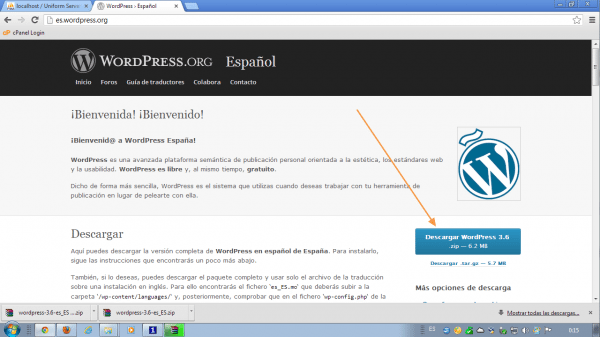 como instalar wordpress en local