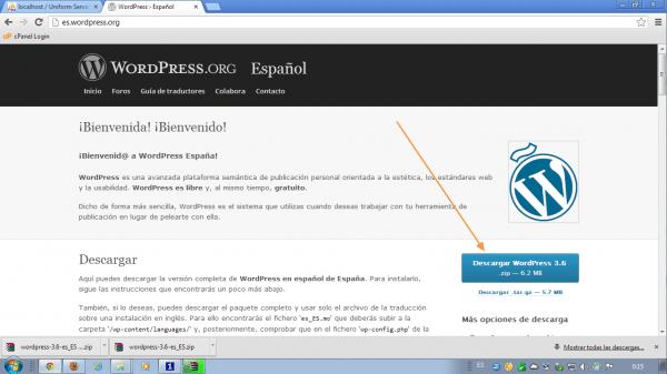como instalar wordpress en local