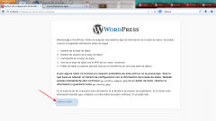 Instalar WordPress. Paso 2.