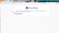 Instalar WordPress. Paso 4.