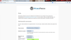 Instalar WordPress. Paso 5