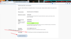 Instalar WordPress. Paso 6