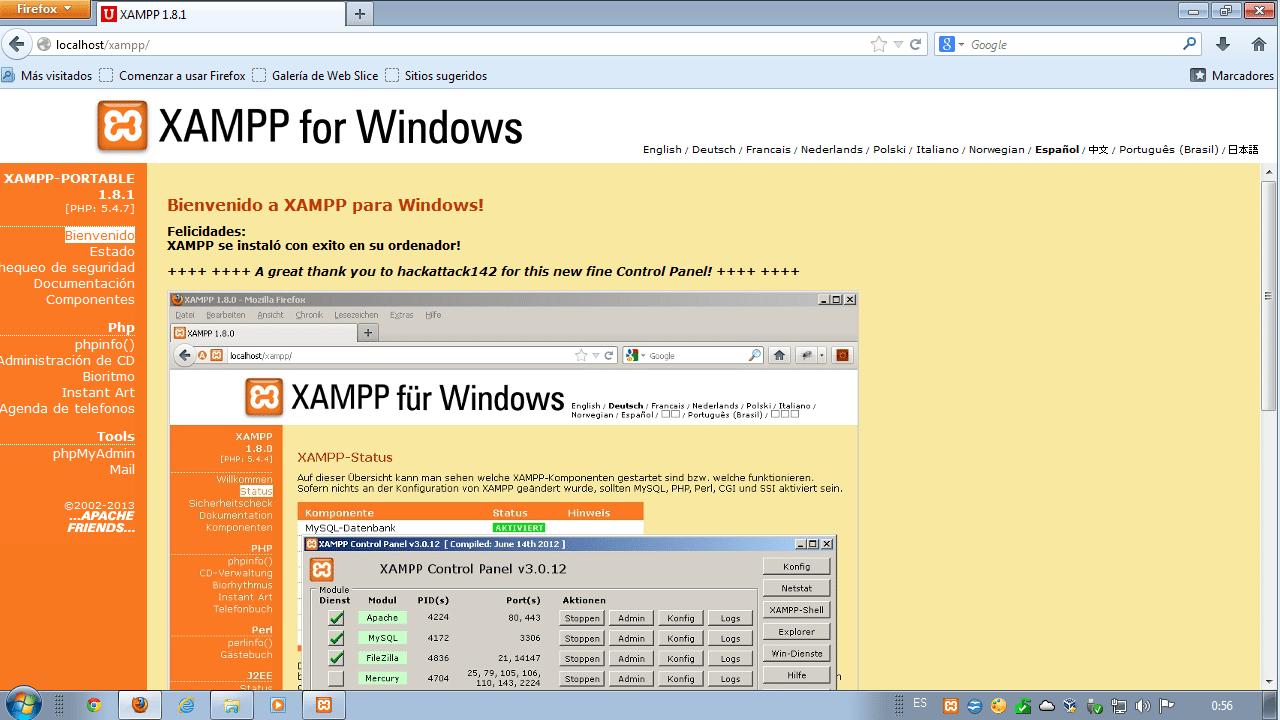 Cómo instalar xampp portable lite en nuestro ordenador