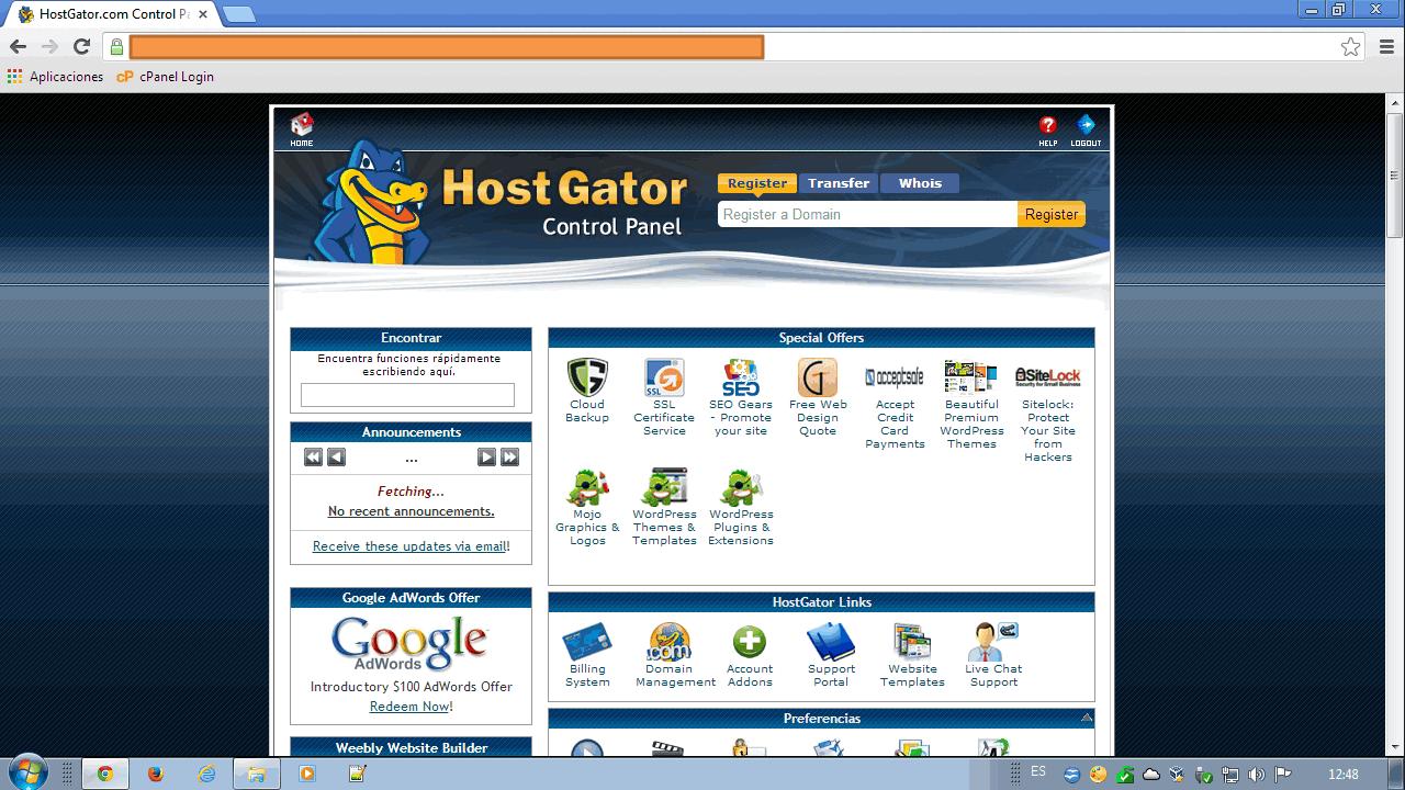 Cpanel hostgator ¿Qué es y para qué sirve el panel de control?