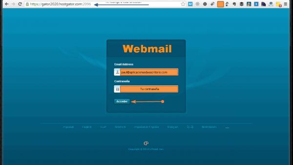 Cómo crear una cuenta de correo con cpanel