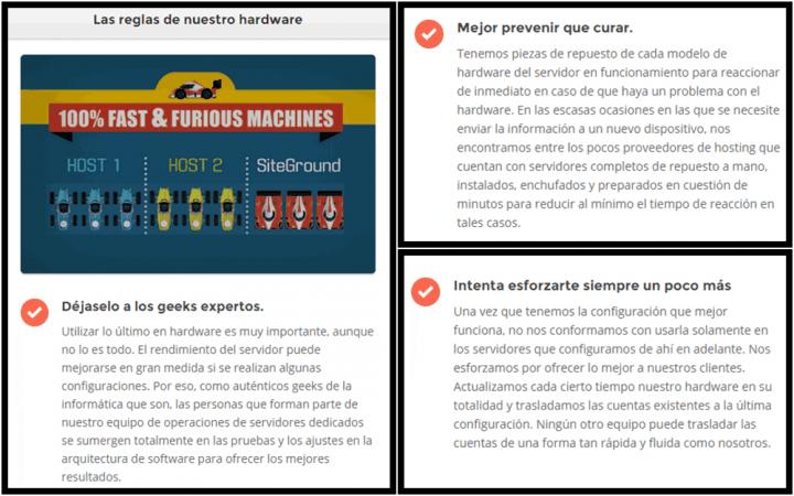 Detalles de como se preocupan en StiGround en pro de que tengas una web superrápida