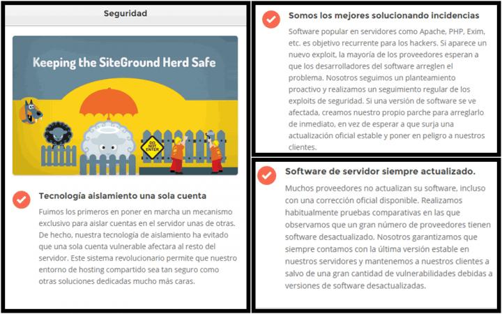 SiteGround y su forma de proteger tu WordPress