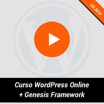 Curso WordPress Online con Genesis de Omar de la Fuente