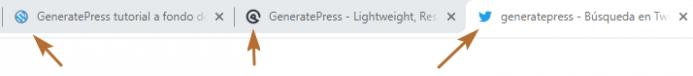 Localización del icono de navegador