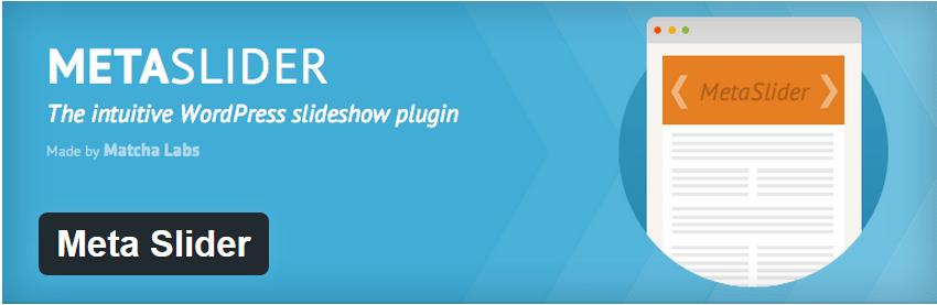 Meta Slider. Crea exclusivos sliders en tu WordPress