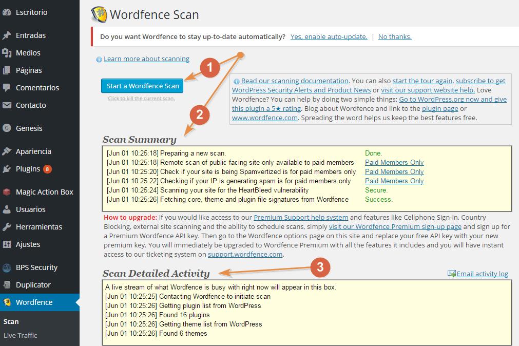 Como desinfectar WordPress. Guía práctica paso a paso
