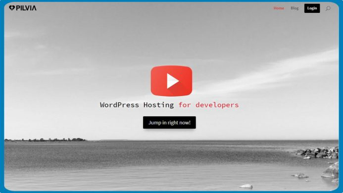 Pilvia hosting especializado en WordPress