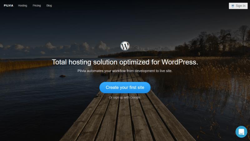 Pilvia.com hosting pensado para WordPress