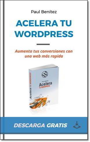 ebook para descarga gratuita: Acelera tu WordPress