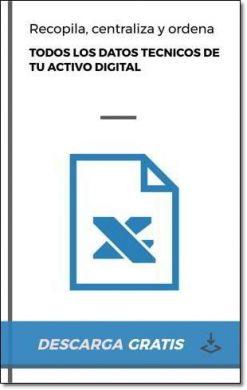 Plantilla Excel GRATUITA para organizar todos tus datos técnicos