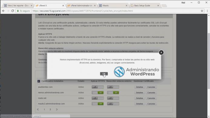 Forzar las comunicaciones bajo https desde el lado del servidor con las herramientas de SiteGround