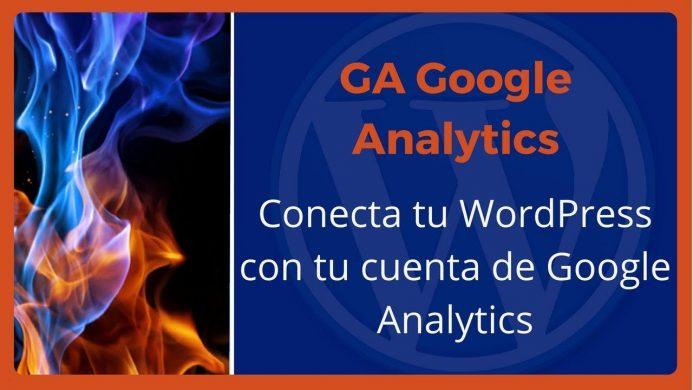Vídeo ilustrativo para conectar tu WordPress con tu cuente de Google Analytics