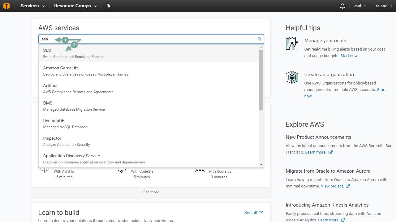 Cómo configurar Amazon SES con Mautic paso a paso