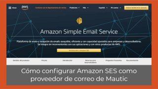 Cómo configurar Amazon SES como proveedor de correo de Mautic