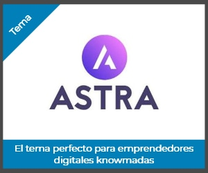 Tema Astra WordPress perfecto para emprendedores knowmadas digitales