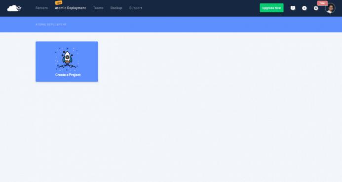 RunCloud - Crear un proyecto