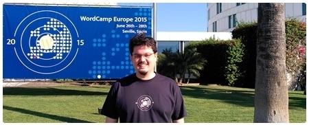 Entrada de la WordCamp Europe celebrada en Sevilla en el 2015