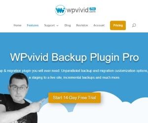 WPvivid Backup